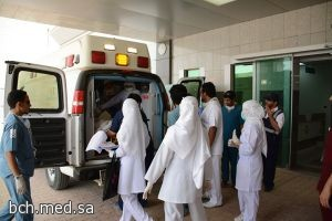 نجاح خطة نقل المرضى المنومين إلى مبنى البرج الطبي