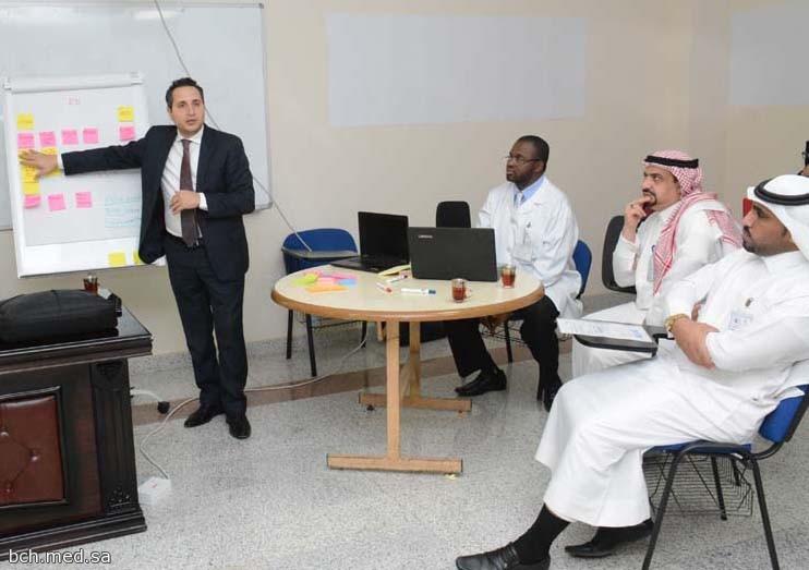 ورشة عمل لتطوير وتحسين الأداء في مستشفى بريدة المركزي