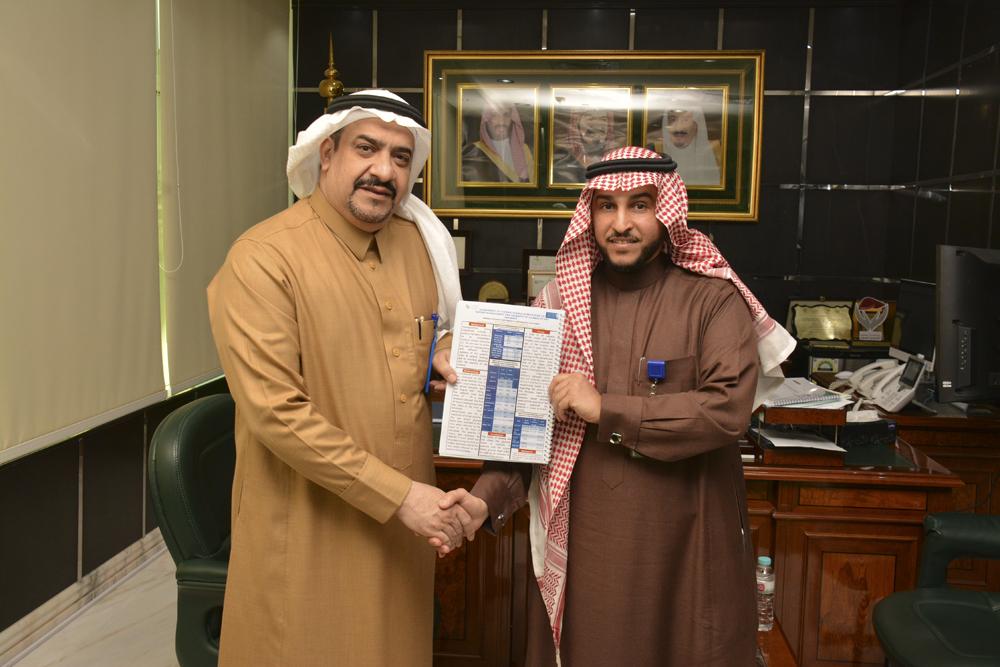 بحث طبي تغذوي جديد بمركزي بريدة للأخصائي أول  أ. عبد العزيز الرشيد