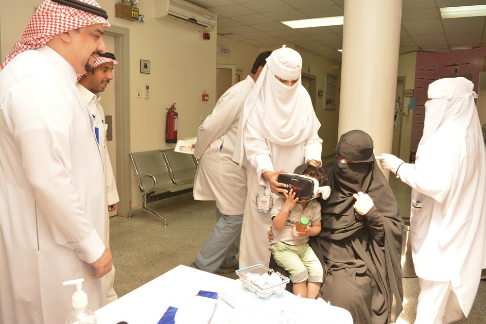 مركز صحي الضاحي يفعل الأسبوع العالمي للتحصين