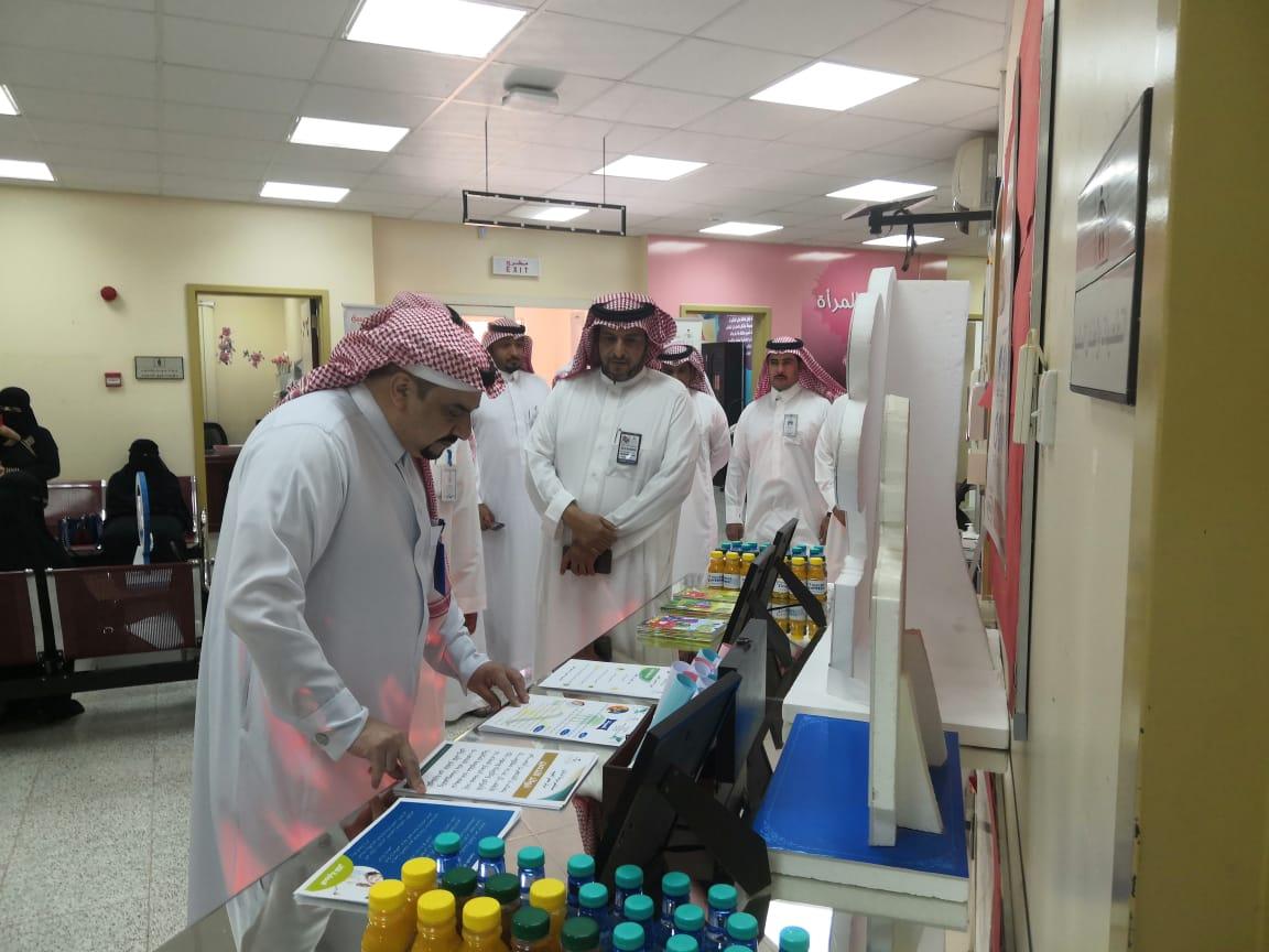 مركز صحي الخبيب يفعل الأسبوع العالمي للتحصين
