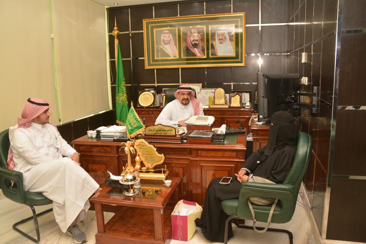مدير مركزي بريدة يستقبل أعضاء المركز السعودي لسلامة المرضى