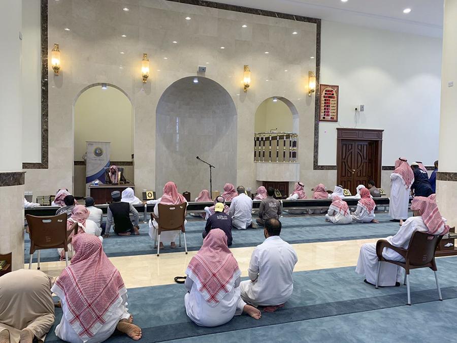 """محاضرة بعنوان """"إحسان المتاب"""" تقيمها إدارة التوعية الدينية بمركزي بريدة"""