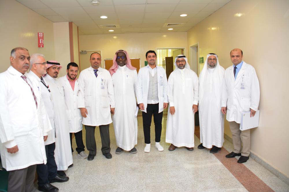 الهيئة السعودية للتخصصات تعتمد قسمي الباطنة والعظام بمستشفى بريدة المركزي مراكز تدريبية لبرنامج الزمالة السعودي