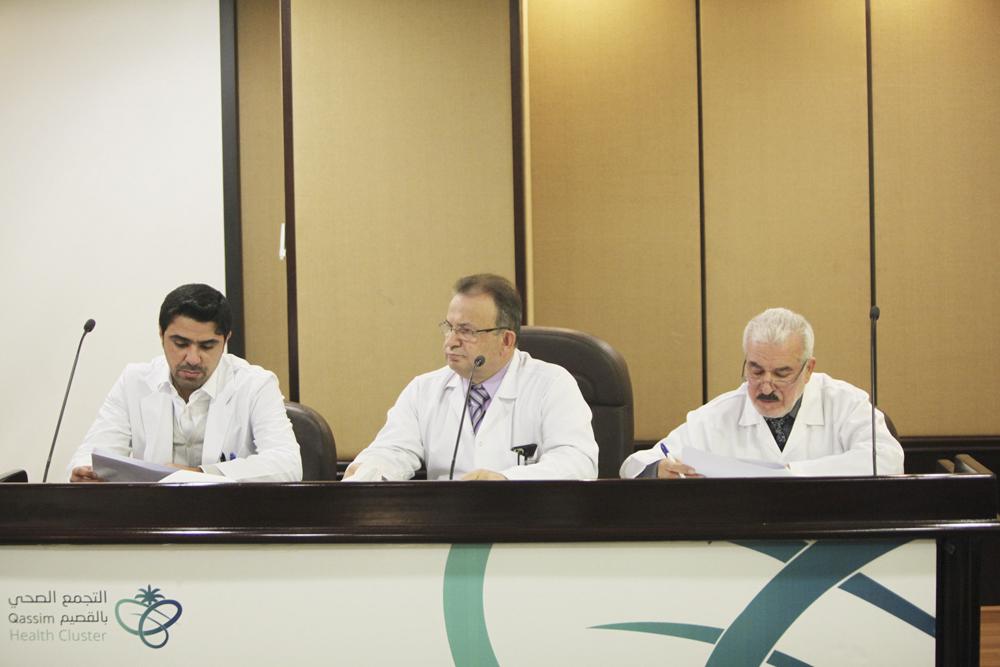 مساعد مدير مستشفى بريدة المركزي للخدمات الطبية يترأس اجتماع لجنة المراضة والوفيات بالمستشفى
