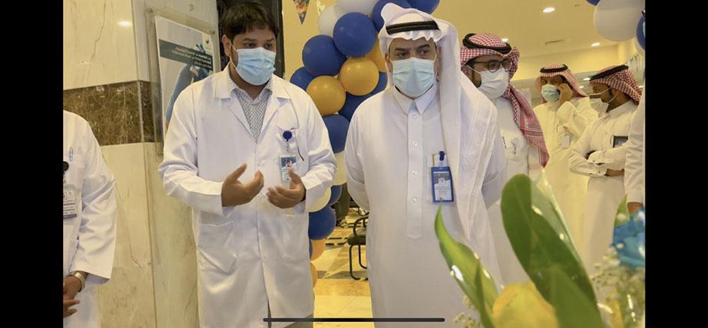 مستشفى بريدة المركزي يفعل الاسبوع العالمي لمكافحة العدوى 2021م