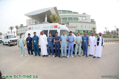 النقل الإسعافي الشريان النابض بالمستشفى